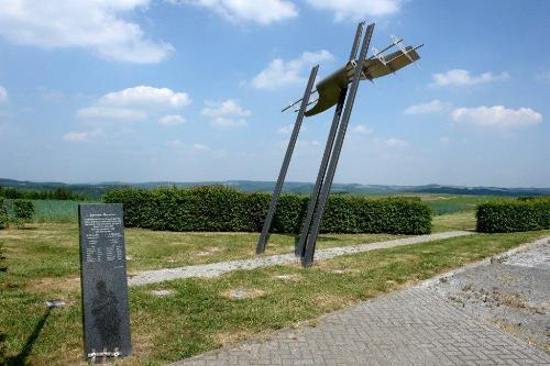 Monument Neergestorte Lancasters Weiswampach
