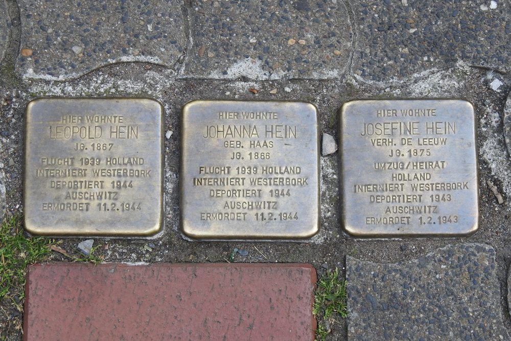 Stumbling Stones Endertstraße