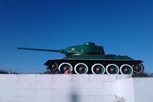 Monument 49e Leger (T-34/85 Tank)