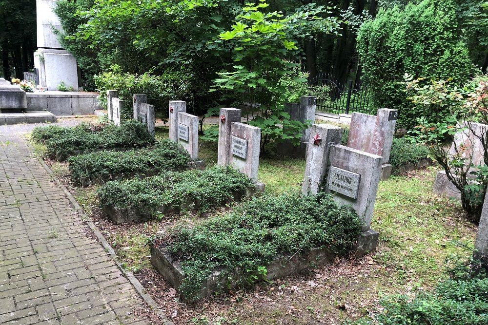 Soviet War Cemetery Lubań