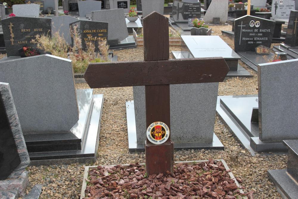 Graven Oudstrijders Nieuwe Begraafplaats Balegem