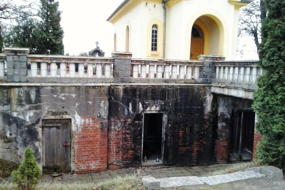 Festung Posen - Bunker Cmentarz św. Antoniego Padewskiego