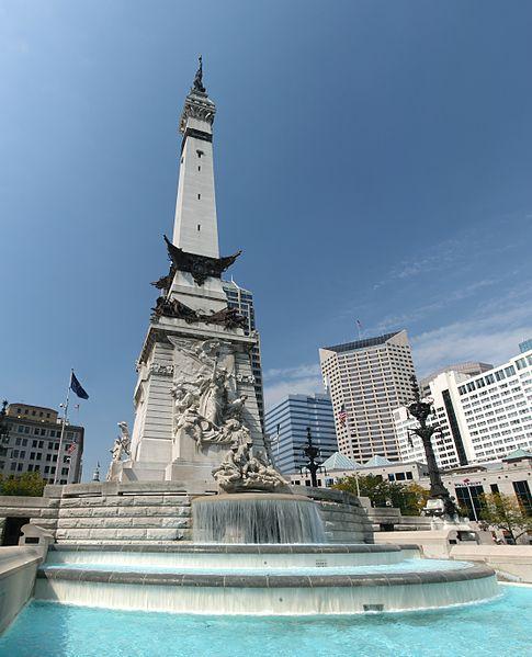 Monument Amerikaanse Burgeroorlog Indianapolis