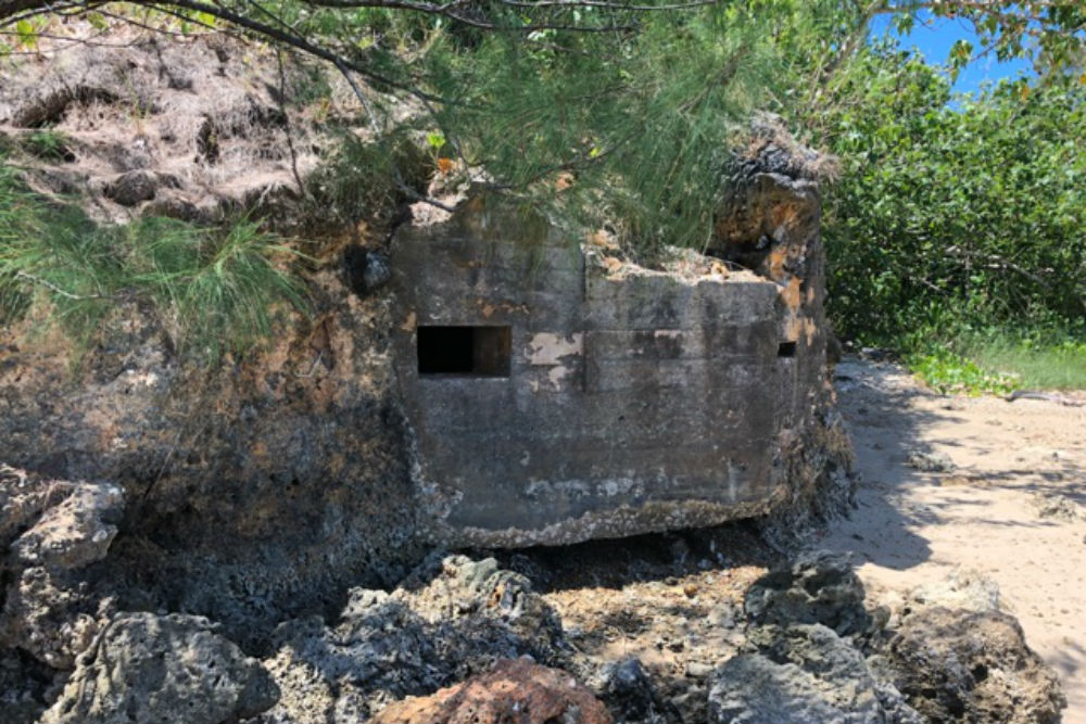 Japanese Bunker Apaca Point