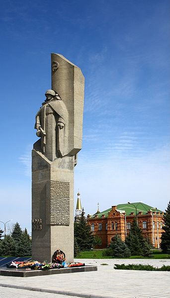 Mass Grave Bolsheviks & Soviet Soldiers Volzhsky