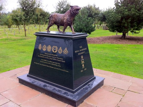 Royal Hampshire Regiment Memorial