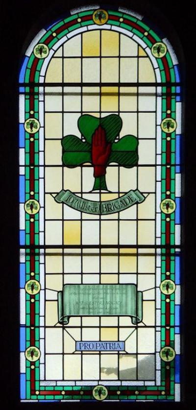 Herdenkingsraam 107 Ulster Brigade St Anne Cathedral
