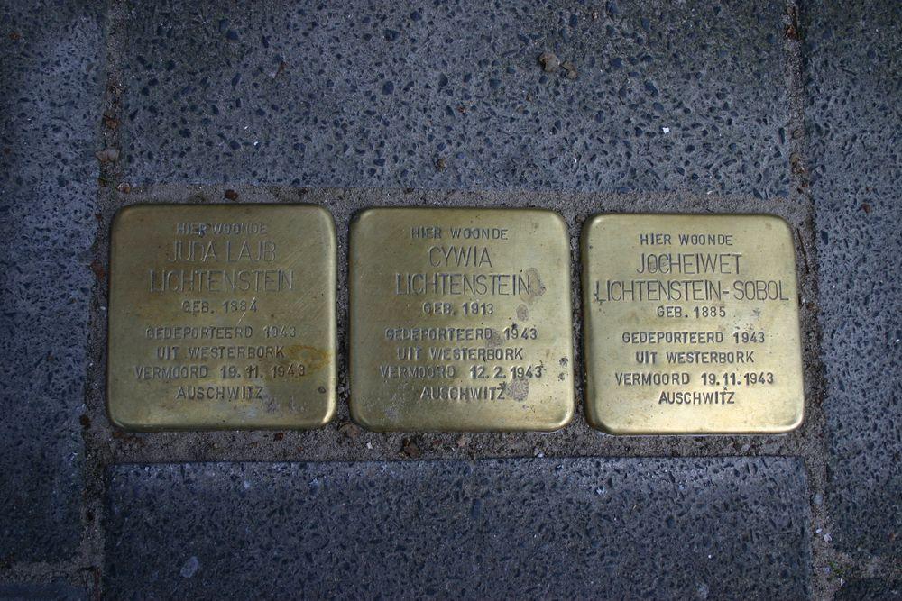 Stolpersteine Jozef Israëlsstraat 12a