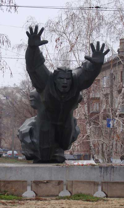 Monument Mikhail Panikakha