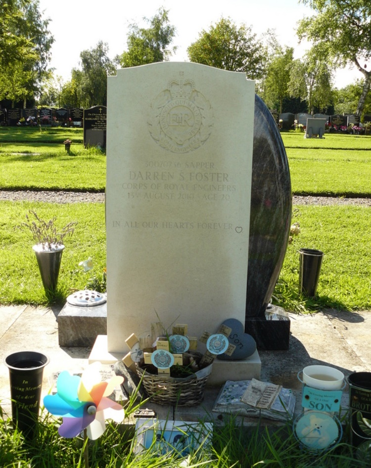 Brits Oorlogsgraf Carlisle Cemetery