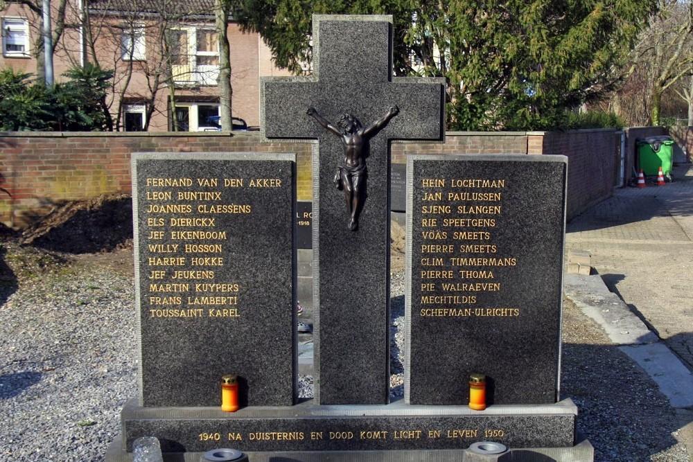 Graven Burgerslachtoffers Rooms Katholieke Begraafplaats Limmel
