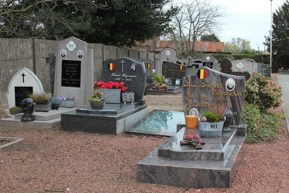 Veteran War Graves Moerzeke Kastel