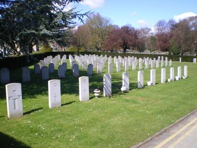 Oorlogsgraven van het Gemenebest Durrington Cemetery