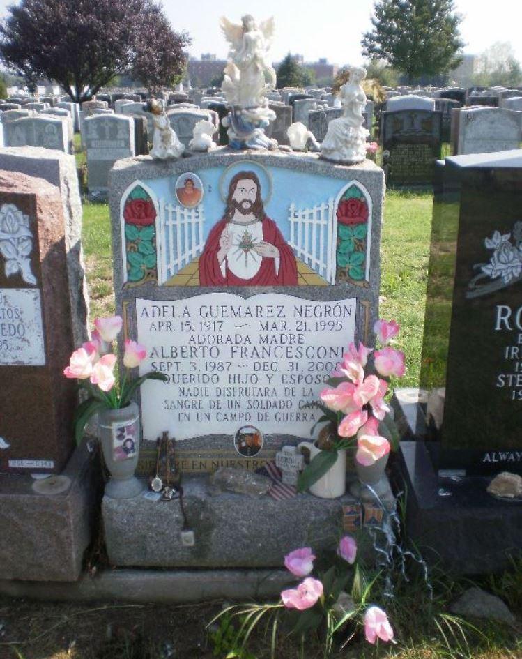 Amerikaanse Oorlogsgraven Saint Raymonds Cemetery New