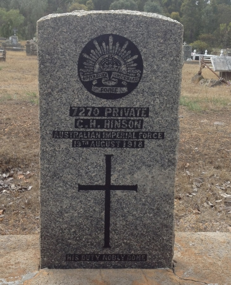 Commonwealth War Graves Nannup Cemetery