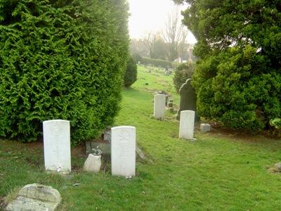 Commonwealth War Graves Radnor Street Cemetery