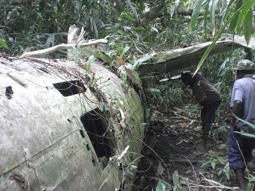 Wreckage Nakajima Ki-49 Donryu #3140
