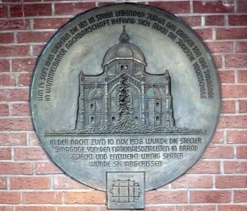 Plaque Synagogue Steele
