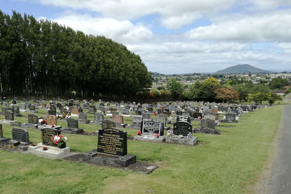 Commonwealth War Graves Te Awamutu Public Cemetery