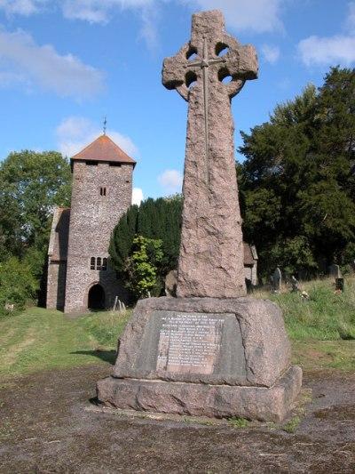 War Memorial Llangattock-Vibon-Avel
