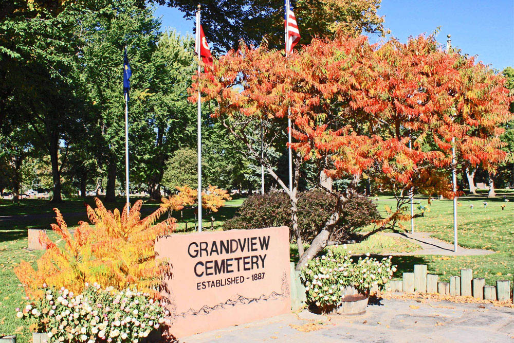 American War Graves Grandview Cemetery