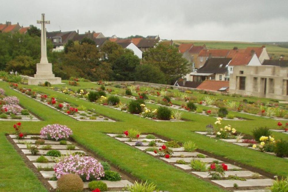 Oorlogsgraven van het Gemenebest Wimereux