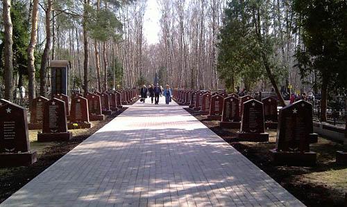 Sovjet Oorlogsgraven Govorovo