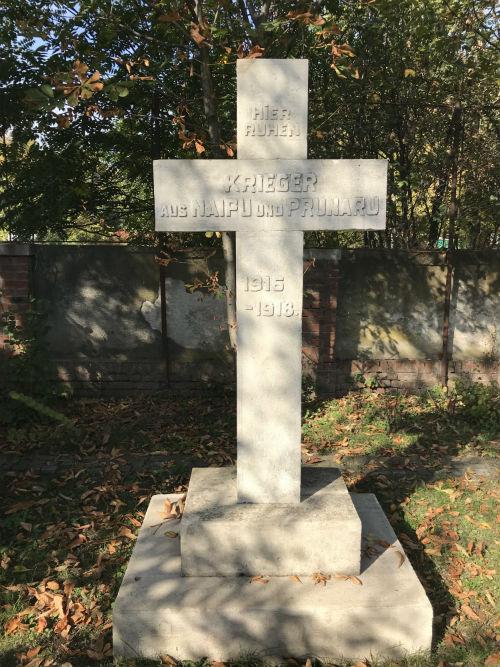 Romanian War Graves German War Cemetery Bucharest