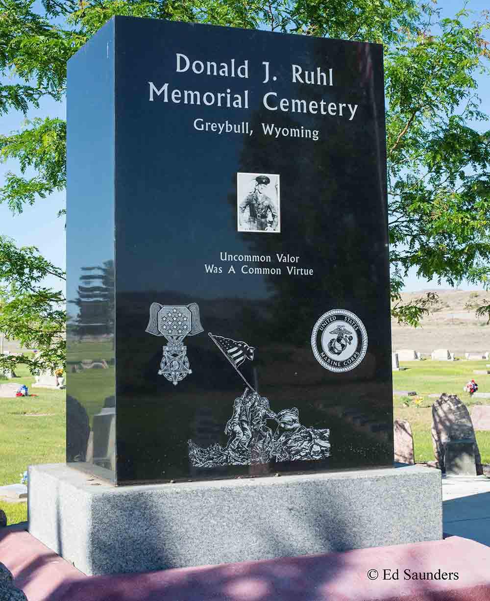 Monument Donald Ruhl
