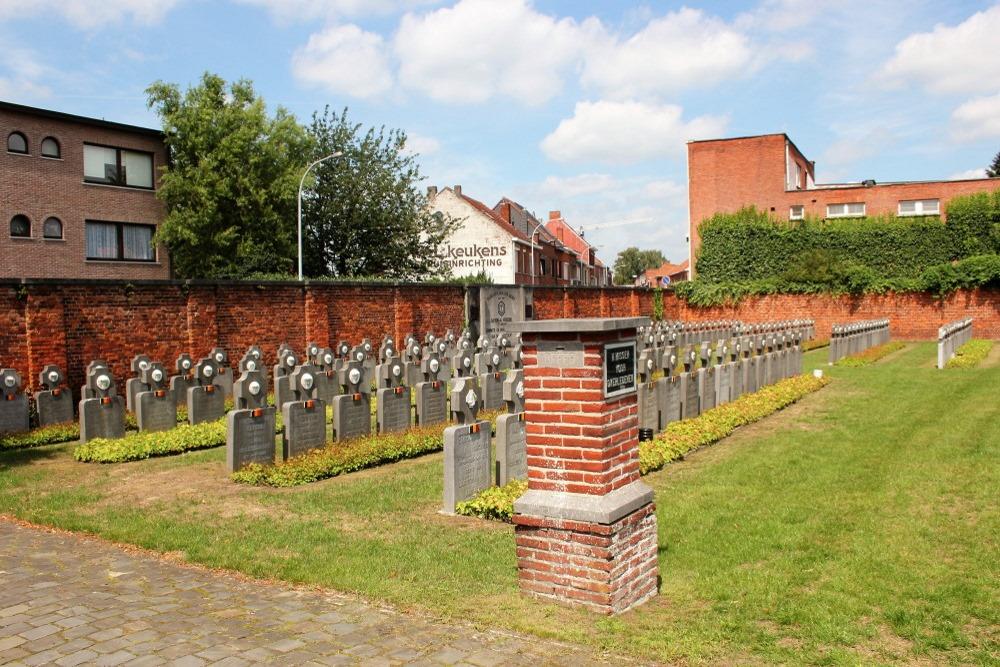 Belgian War Graves Municipal Cemetery Turnhout