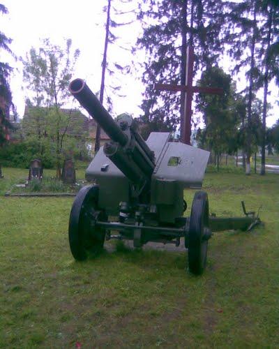 Sovjet Oorlogsbegraafplaats Perechyn