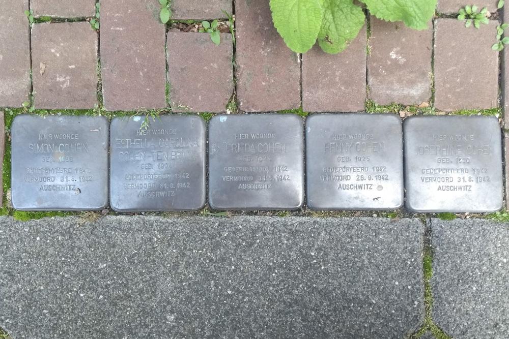 Stumbling Stones Mauritslaan 110
