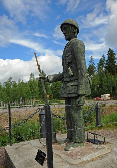 Memorial Swedish Border Guards