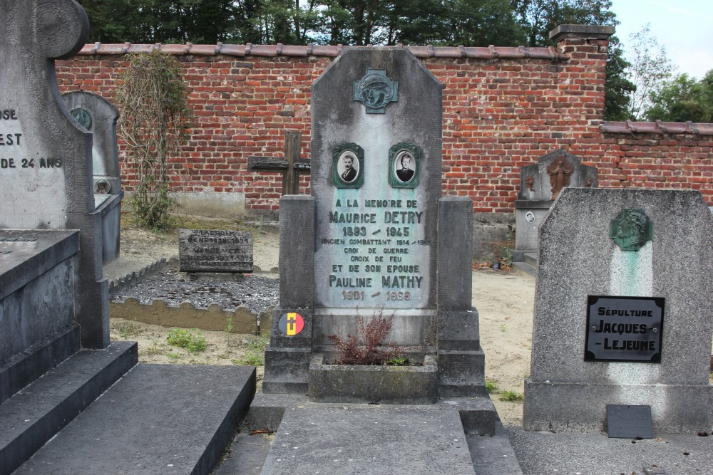 Graven Oudstrijders Gistoux