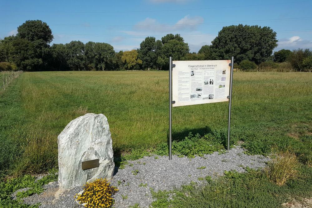 Crash Site & Memorial Messerschmitt Bf 109 G14 Werknummer 781230