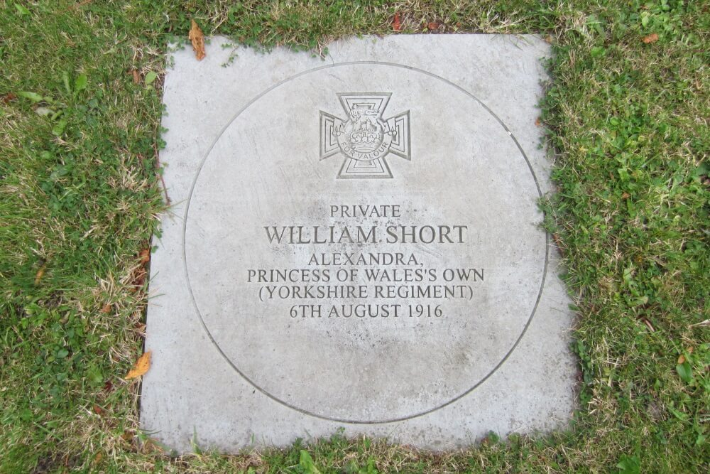 War Memorial William Short VC 2