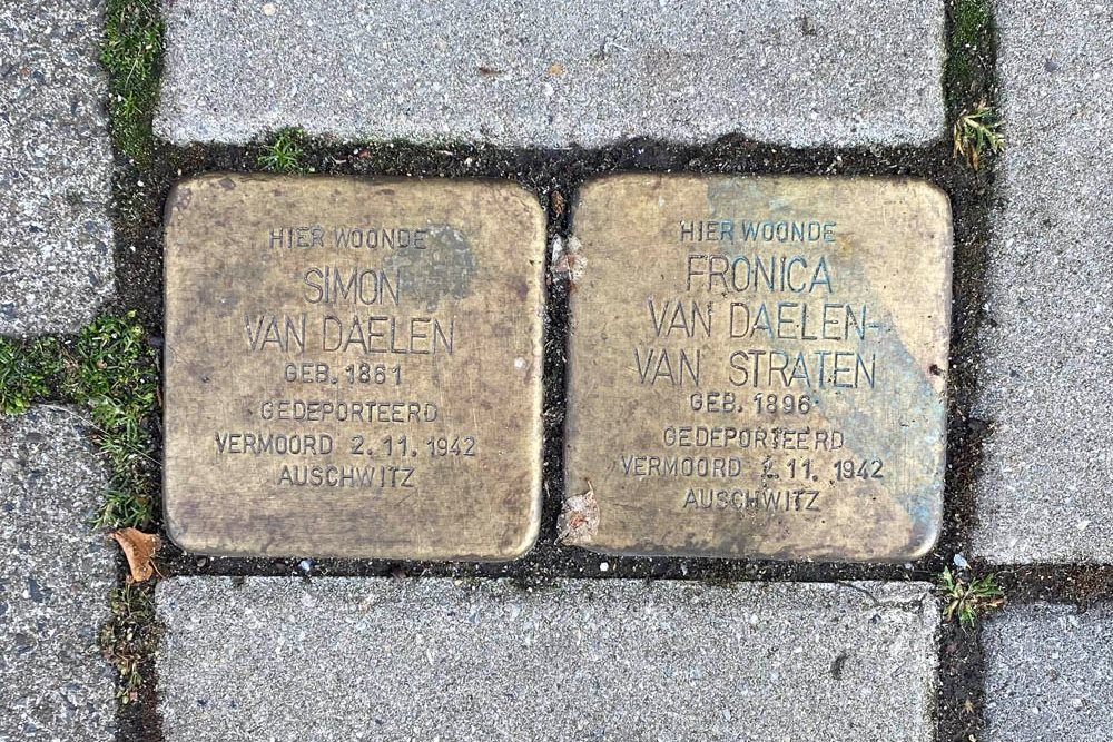 Stolpersteine Harstenhoekweg 97