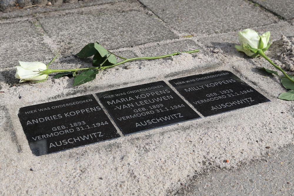 Memorial stones Koppens Family