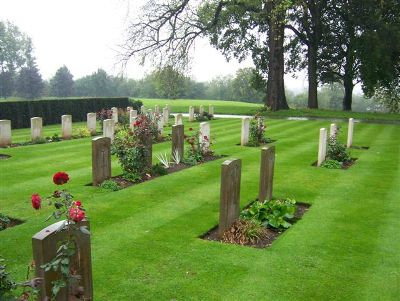 Commonwealth War Graves Derby Cemetery