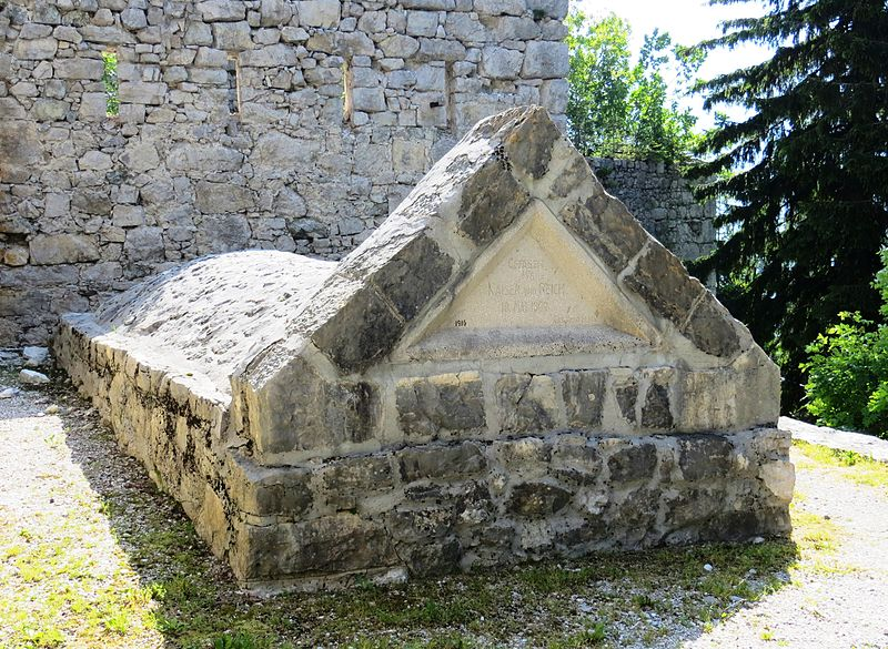 Mass Grave Austrian Soldiers