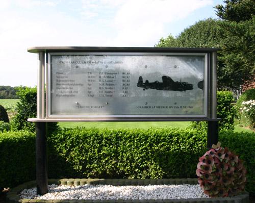 Memorial Lancaster LM465  LS-U