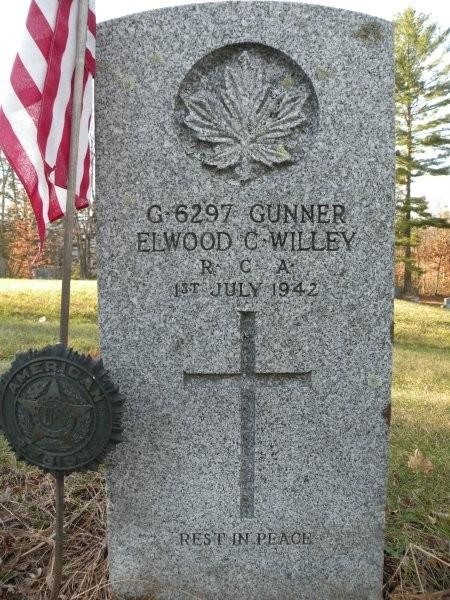 Commonwealth War Grave Pine Grove Cemetery