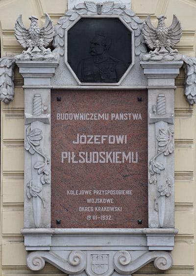 Plaquette Jozef Pilsudski