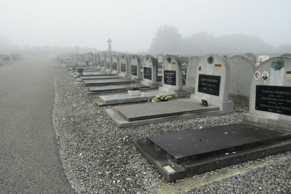 Graven Oorlogsveteranen Bekkevoort