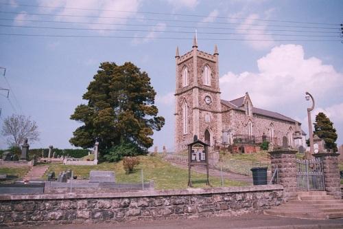 Oorlogsgraf van het Gemenebest Magheragall Church of Ireland Churchyard
