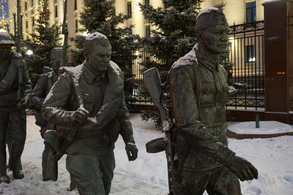 Monument 'Zij vochten voor het Moederland'
