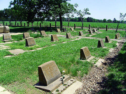Memorial Cemetery Rohwer Internment Camp