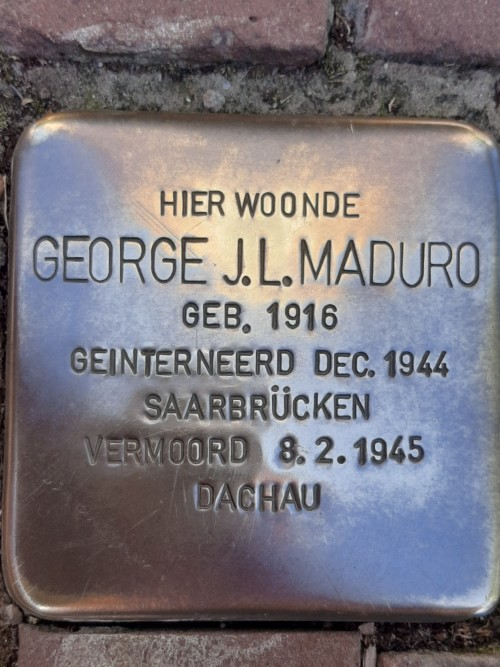 Stumbling Stone Frederik Hendriklaan 111