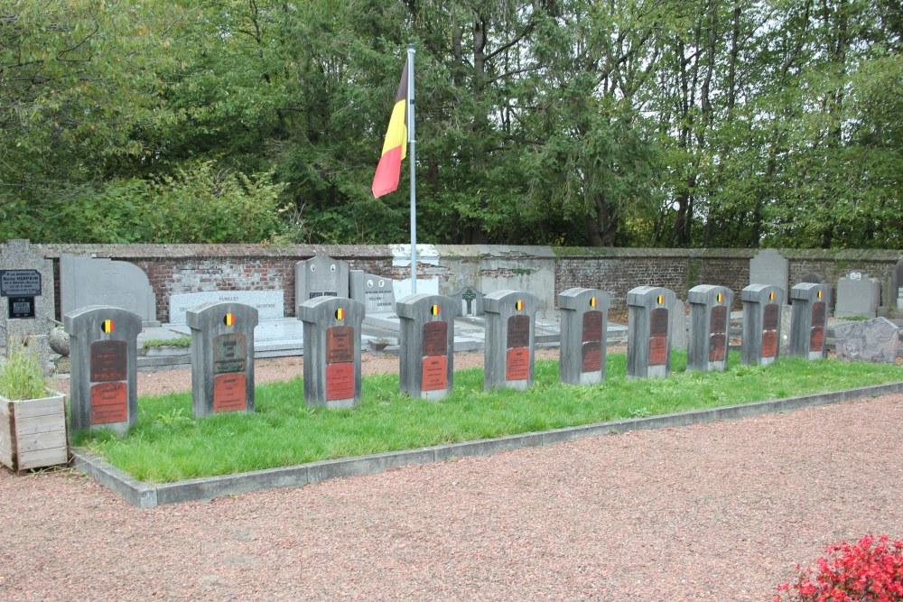 Ereperk Oudstrijders Begraafplaats l'Ermite Braine-l'Alleud