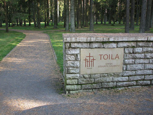 German War Cemetery Toila